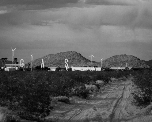 Gas station, east of Barstow (Photo: Jason M. Vaughn, All images copyright © 2018 by Jason M. Vaughn Photography. All rights reserved.)