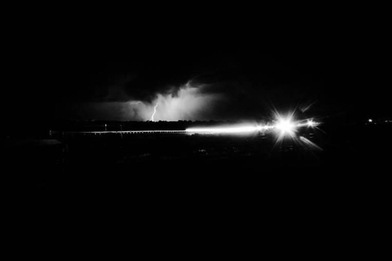 Lightning along US 160 near Mesa Verde National Park (Photo: Jason M. Vaughn, All images copyright © 2018 by Jason M. Vaughn Photography. All rights reserved.)
