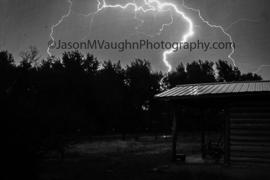 Lightning through the porch screen, Mancos, CO (Photo: Jason M. Vaughn, All images copyright © 2018 by Jason M. Vaughn Photography. All rights reserved.)